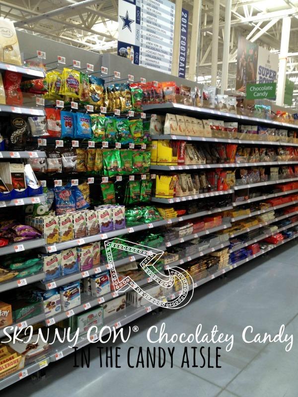 skinny cow chocolatey candy