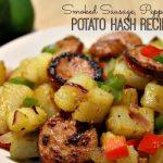 Smoked Sausage, Pepper and Potato Hash Recipe