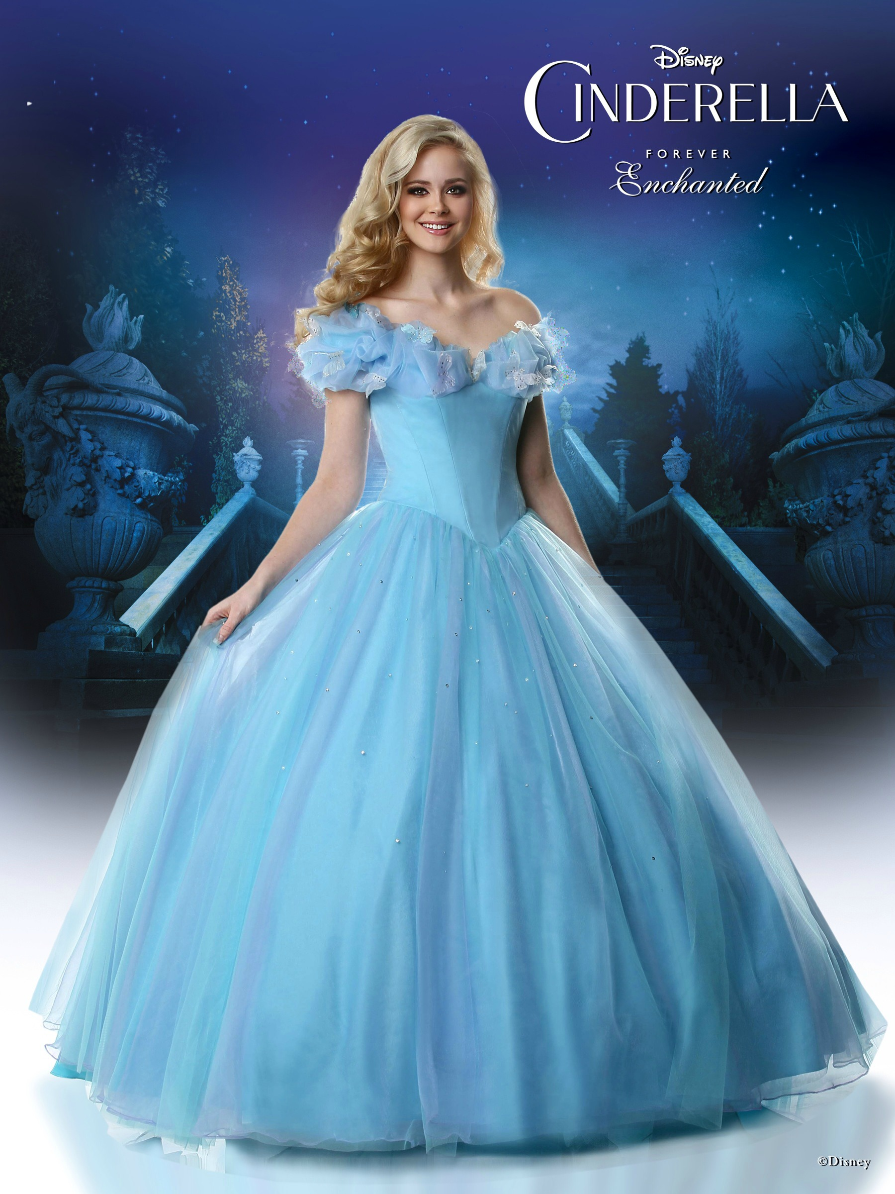 introducing the 2015 disney forever enchanted cinderella dress for prom mom fabulous. Black Bedroom Furniture Sets. Home Design Ideas