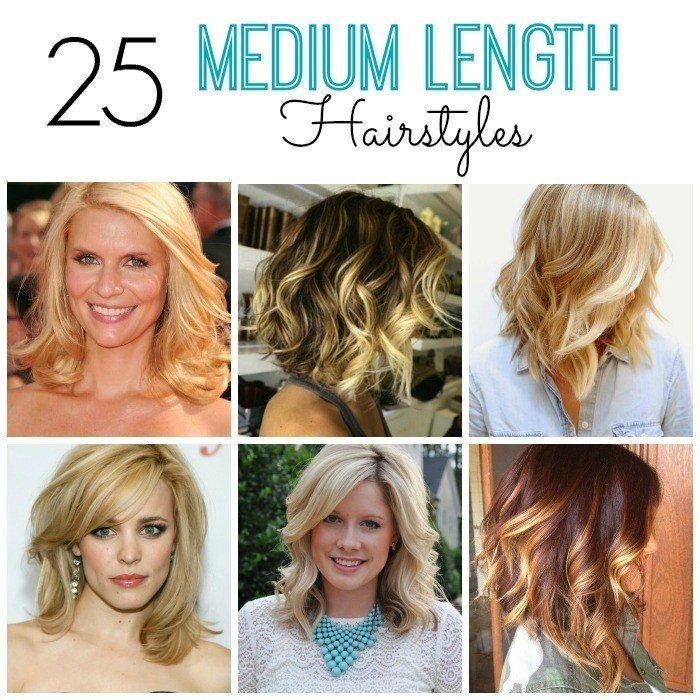 25 Medium Length Hairstyles for Moms