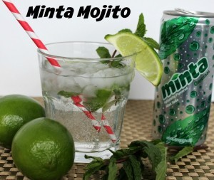 Cocktails with MINTA Naturally Flavored Sodas