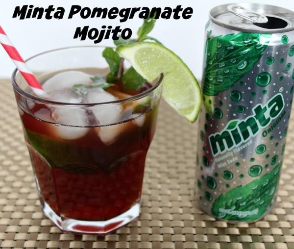 Minta Pomegranate Mojito