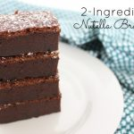 Pin-Fabulous: 2-Ingredient Nutella Brownies