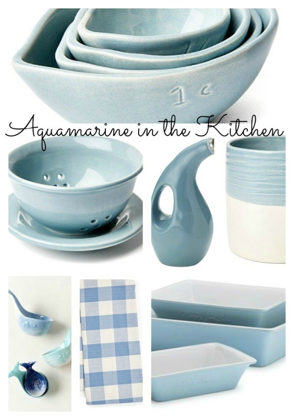 Pantone 2015 Aquamarine In The Home