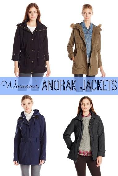 Womens Anorak Jackets