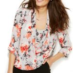 Cute Outfit Ideas of the Week #48 — The Floral Blouse