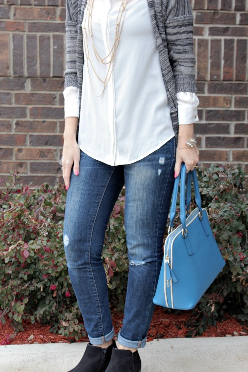 what to wear with a cardigan 02