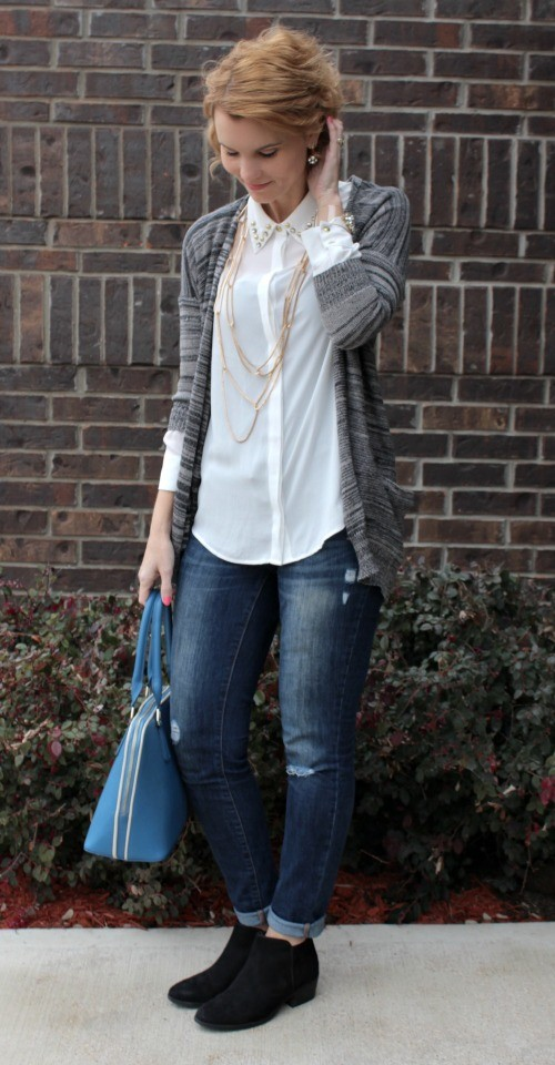 what to wear with a cardigan 04