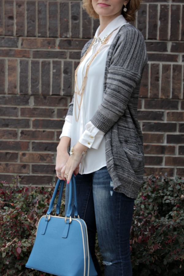 what to wear with a cardigan 05
