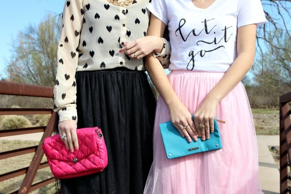 what to wear with a tulle skirt 06