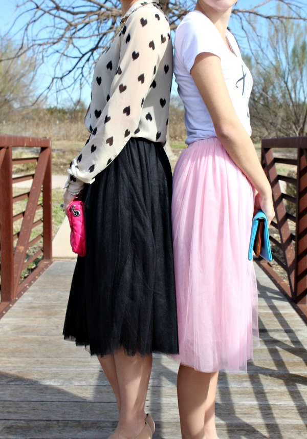 what to wear with a tulle skirt 07