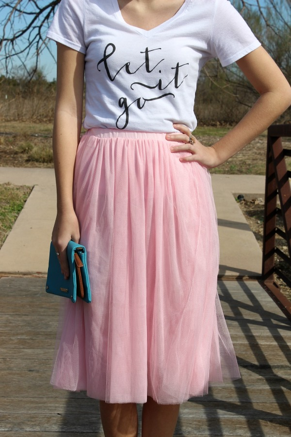 what to wear with a tulle skirt 11