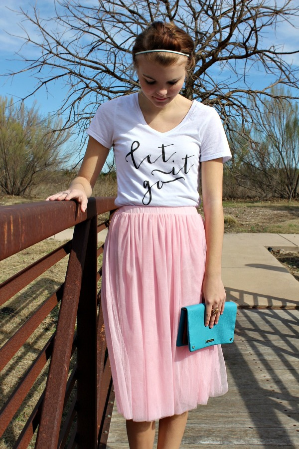 what to wear with a tulle skirt 13