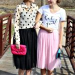 What to Wear with a Tulle Skirt — Mother\Daughter Edition