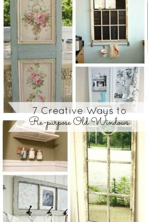 7 Creative Ways to Repurpose Old Windows
