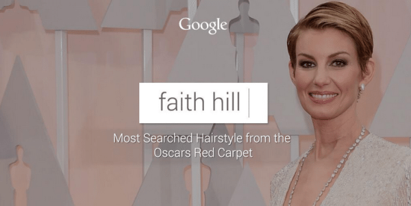 Faith Hill Pixie haircut