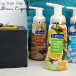 Creating the Perfect Guest Bathroom with Foaming Hand Soap & An Emergency Kit for the Ladies