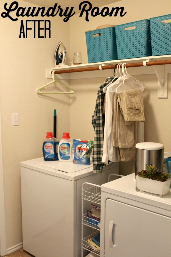 Laundry Room Refresh After