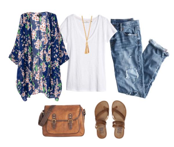 boho outfit idea