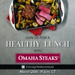 You're Invited to the Omaha Steaks Twitter Party to Chat #StraightTalkonSteak, Plus a Giveaway!