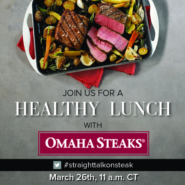 Omaha Steaks Twitter Party