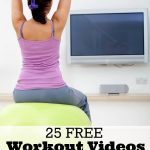 25 Free Workout Videos You Can Do In Your Own Living Room