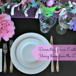 Decorating for Brunch with Easter Crafts Using Items from the Dollar Tree