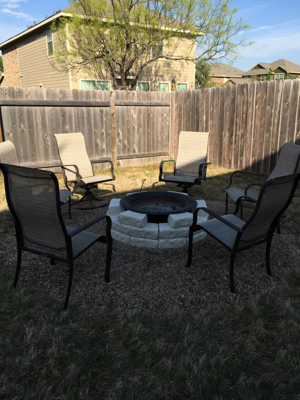 We Decided Not To Put Any Sort Of Border Around The Outside For Now So  People Could Easily Move Their Chairs Back If They Need Too. I Think It  Blends Nicely ...