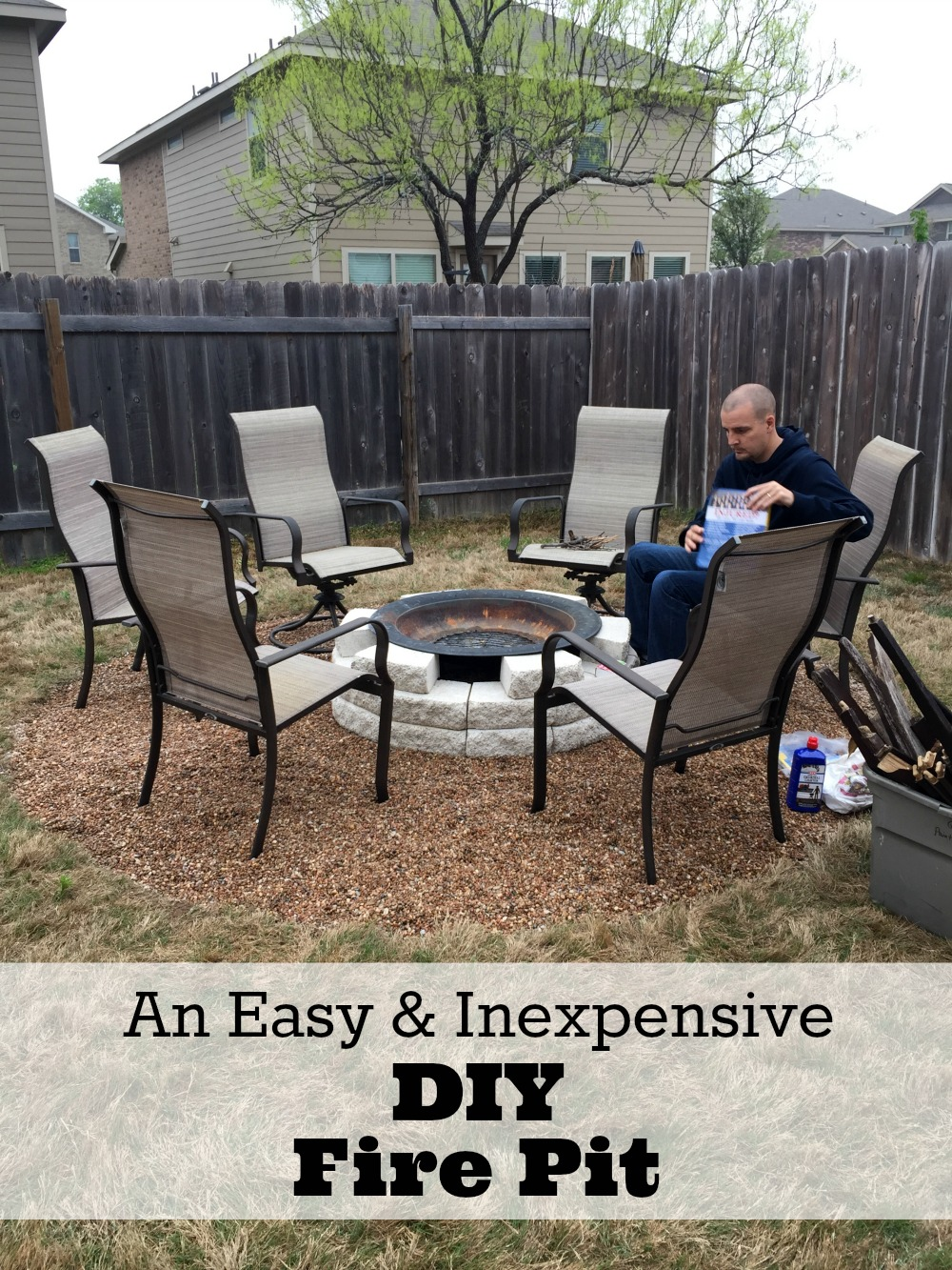 fire pit ideas plus our own diy fire pit reveal mom fabulous