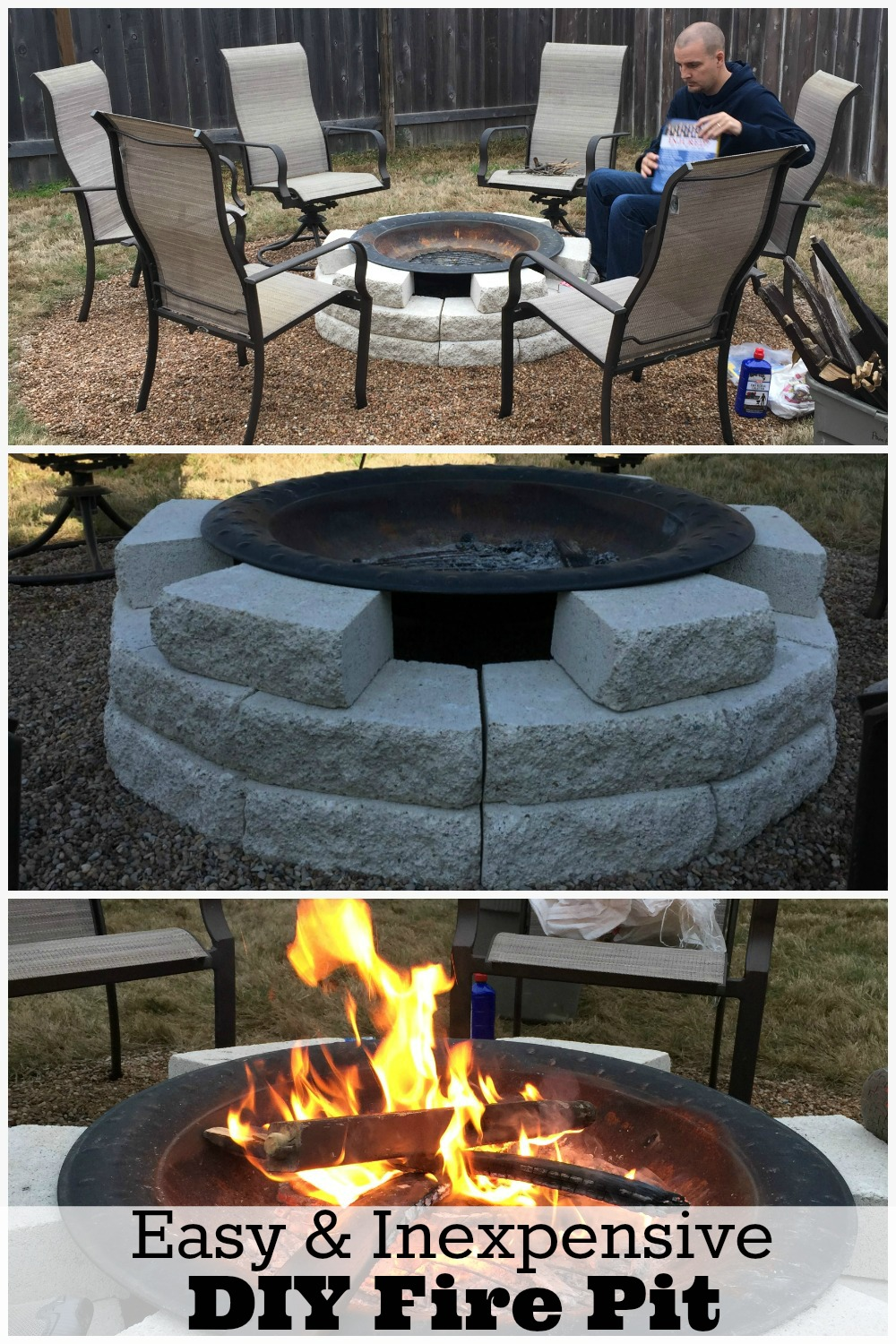 fire pit ideas plus our own diy fire pit reveal mom