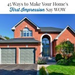 45 Ways to Make Your Home's First Impression Say WOW (Printable Checklist)