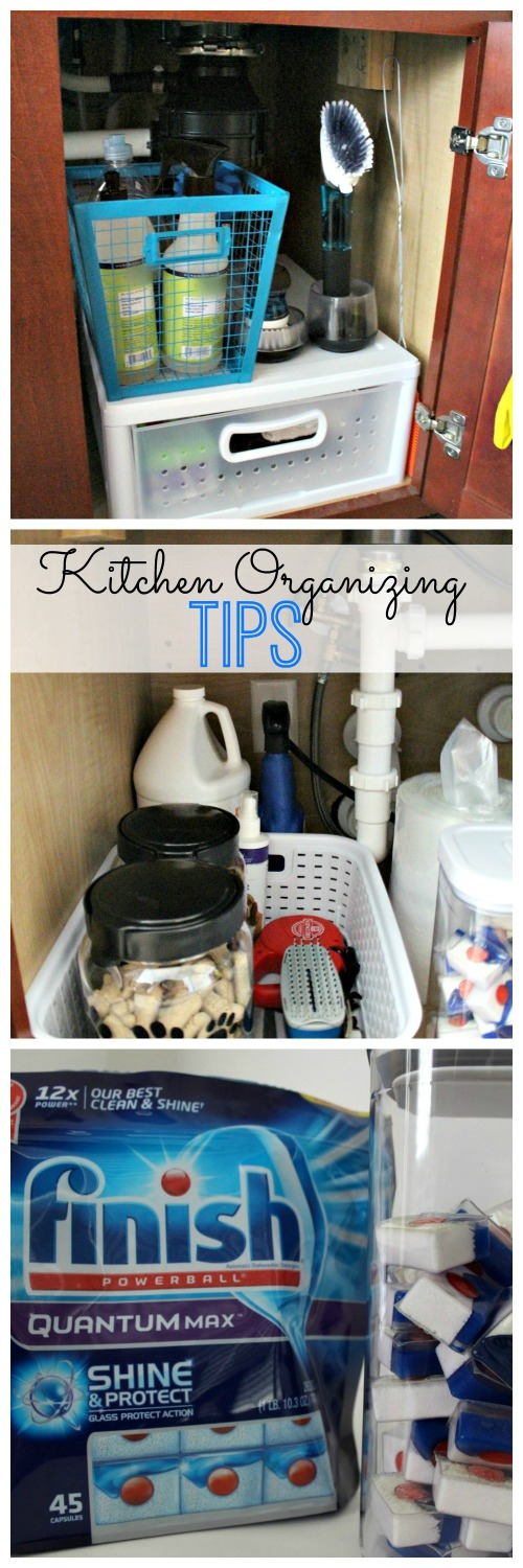 Organizing the Kitchen Sink