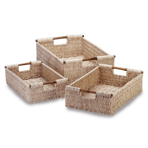 bamboo baskets for the kitchen