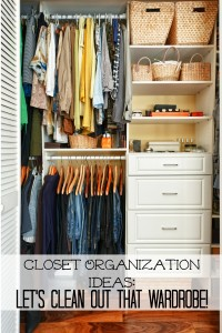 Spring Closet Organization Ideas: Let's Clean Out That Wardrobe!