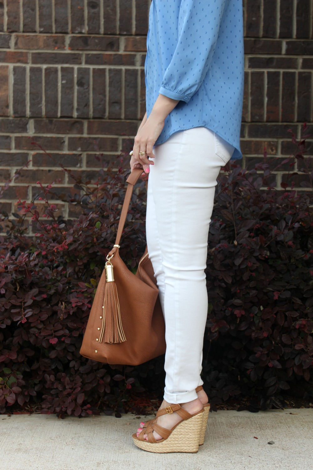 white jeans outfit  from dress to casual