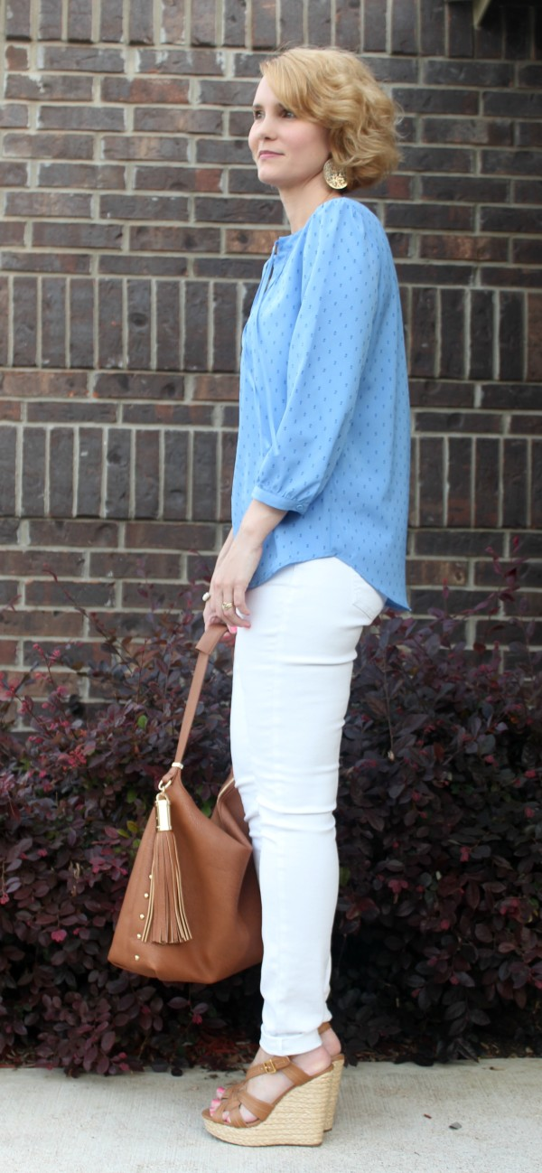 White Jeans Outfit - From Dress to Casual