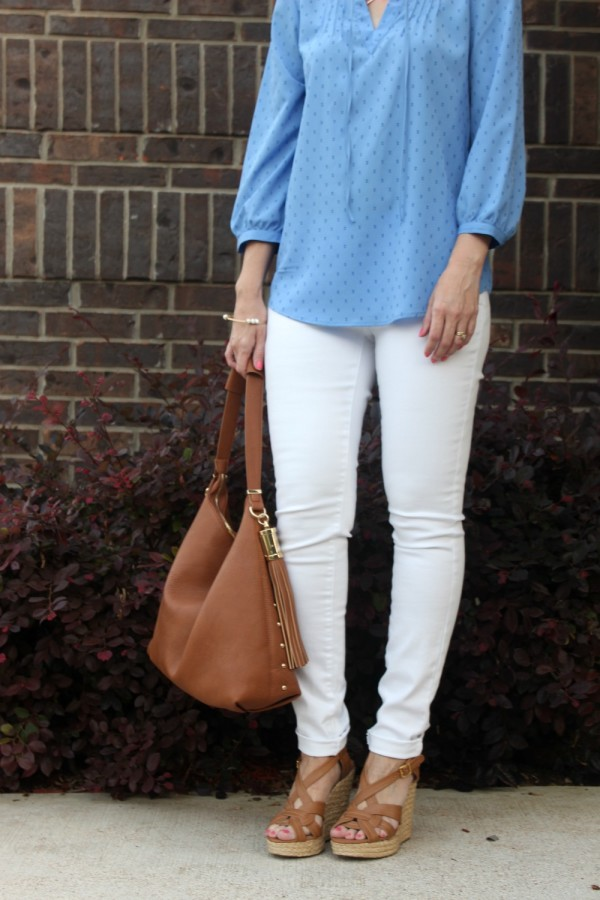 White denim outfits
