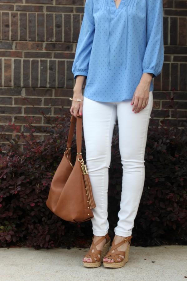 White denim outfits