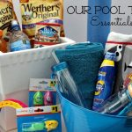 What I Pack in Our Pool Bag for the Summer