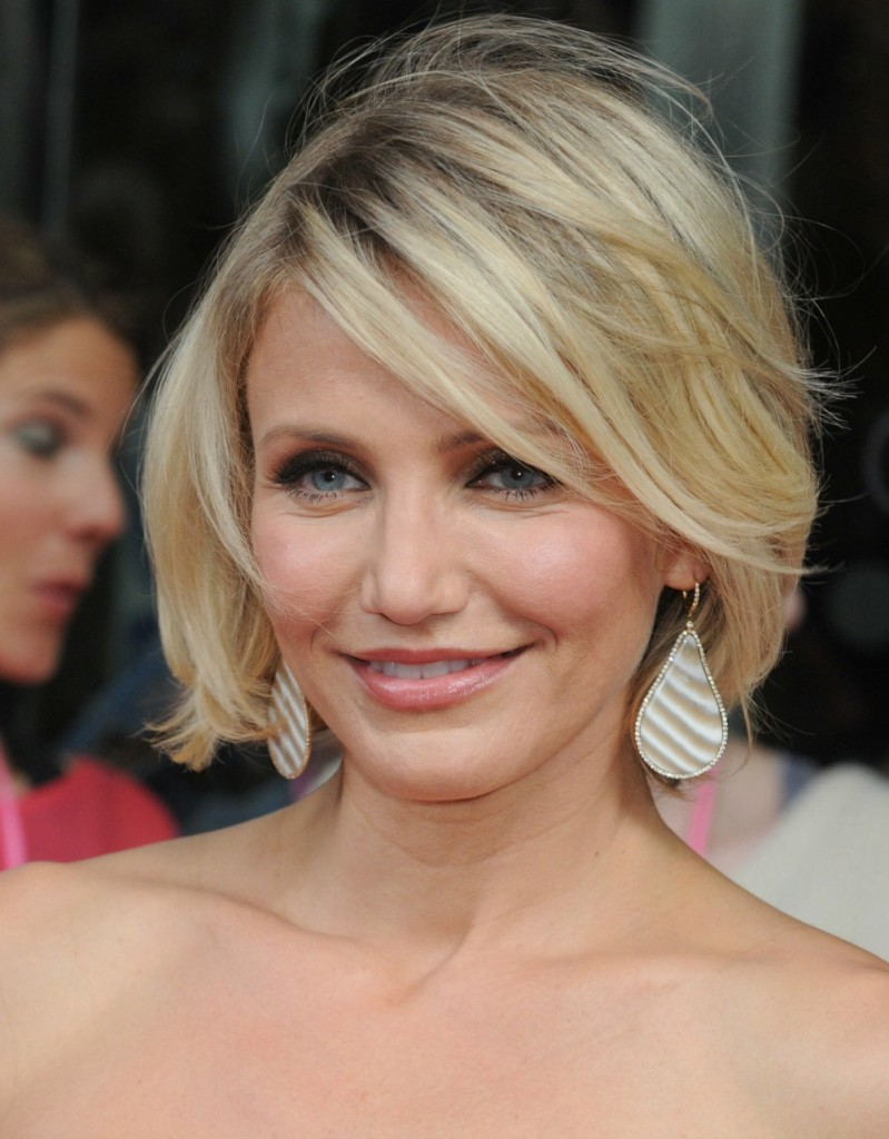 t Hair - Cameron Diaz looks phenomenal with this style.
