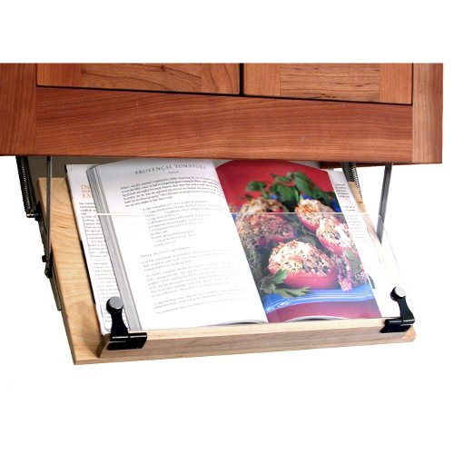 under the cabinet cookbook holder