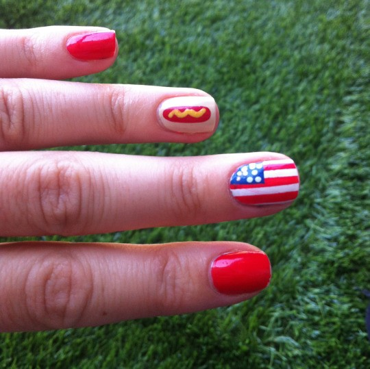 Fourth of July Nails-02