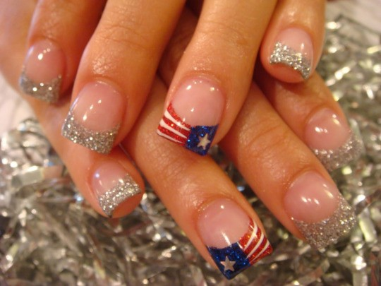 Fourth of July Nails-04