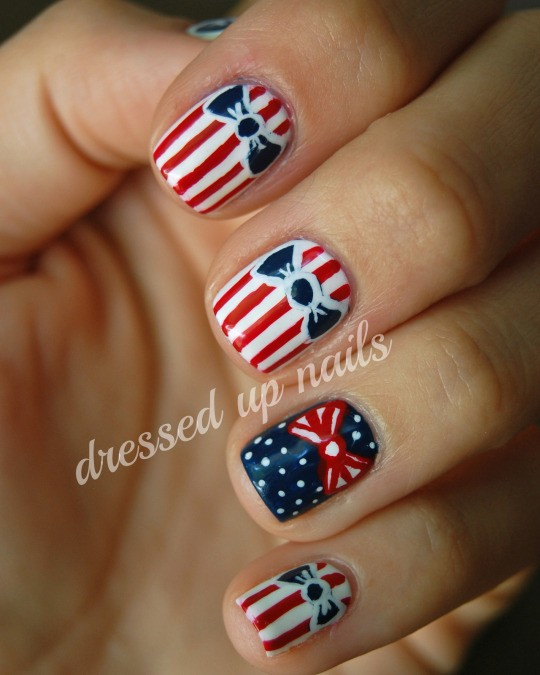 Fourth of July Nails-09