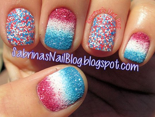 Fourth of July Nails-13