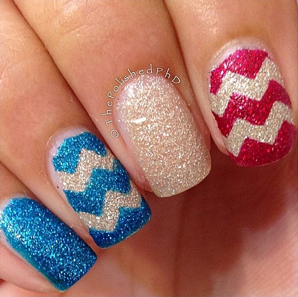 Fourth of July Nails-17