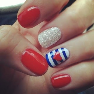 Fourth of July Nails-18