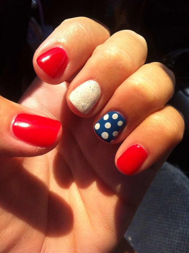 Fourth of July Nails-19