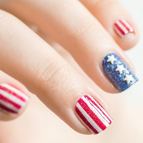 Fourth of July Nails-21