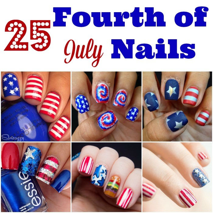 Fourth of July Nails-28